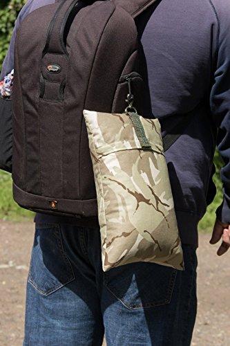 Camera Bean Bag Desert poli riempito di palline in plastica e palline di polistirolo 400grams, taglia M–35cm x 22cm o 22,9x 35,6cm