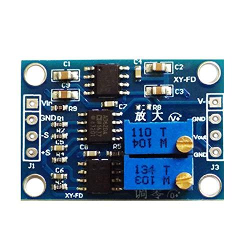 HOOGAO Millivolt-Spannungsverstärker mit hohen Genauigkeit UV/MV Spannung Kleinsignalverstärker Instrumentenverstärker AD620 Spannungsverstärker Transmitter