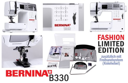 Bernina 330 Sewing Machine with Knee Lever