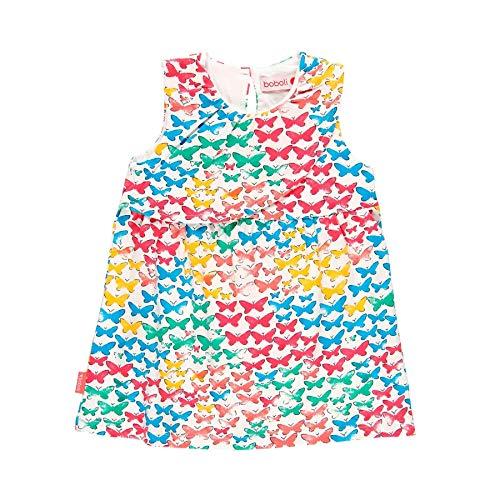 Vestido punto elástico de bebé niña