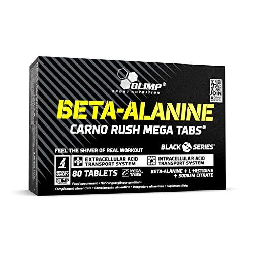 Olimp Beta-Alanine Carno Rush 80 Tabletten, 1er Pack (1 x 155,2 g)