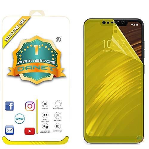 Película De Gel Silicone Flexível Para Xiaomi Pocophone F1 Tela 6.18 - Proteção Que Adere Em Toda A Tela - Danet