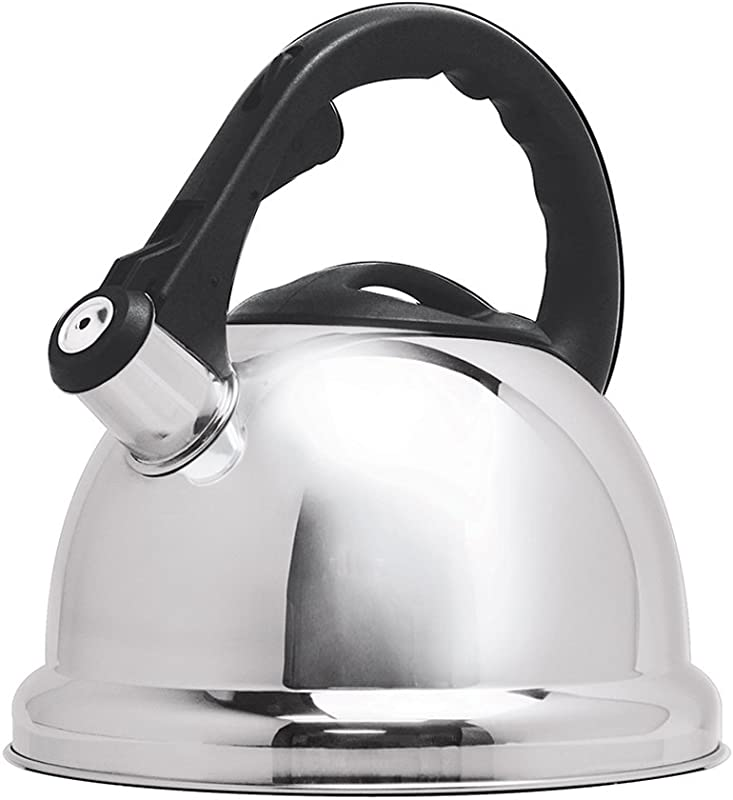 Primula Safe T Stainless Steel Whistling Tea Kettle