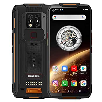 OUKITEL WP7 Unlocked Rugged Smartphone Night Vision Camera 128GB+6GB Cell Phone 8000mAh Battery 48MP+16MP Global 4G LTE Octa-Core 6.5 inches GPS NFC