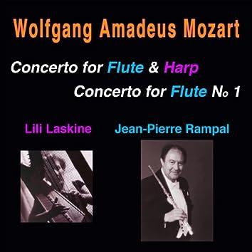 Mozart: Concertos, K. 299 & K. 313
