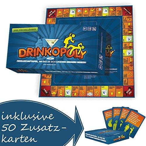 Drinkopoly verrückteste Spiel Aller Zeiten mit Zusatzkarten!