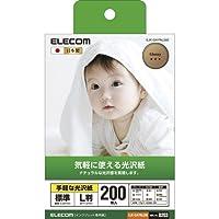 (11個まとめ売り) エレコム 光沢紙 手軽な光沢紙 EJK-GAYNL200