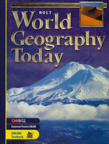 World Geography Today: Student Edition 2005