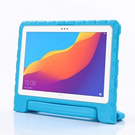 i-original Compatible with Huawei MediaPad T5 10 10.1-in Case,Shock Proof Huawei Honor Play Pad 5 EVA Case for Kids Bumper Cover Handle ...