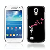 CelebrityCase Polycarbonate Hard Back Case Cover for Samsung Galaxy S4 MINI ( Banksy )