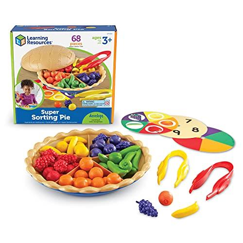 Learning Resources LER6216 Super Sortierkuchen,