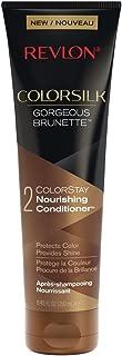 Revlon ColorSilk Care Conditioner, Brown, 8.45 Fluid Ounce