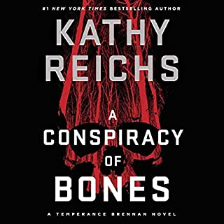 A Conspiracy of Bones audiobook cover art