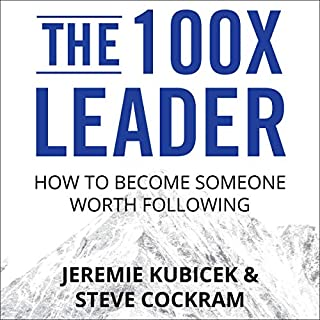 The 100X Leader audiobook cover art