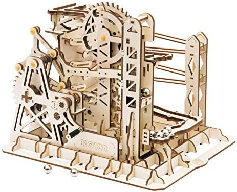 Rowood 3D Wooden Marble Run Puzzle Craft Toy Gift for Adults Teen Boys Girls Age 14 DIY Model product image