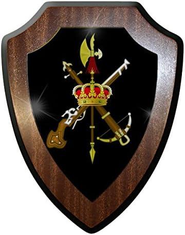 ALFASHIRT Emblema de la Legión Española español Bandera de ...