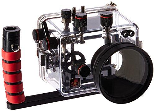 Ikelite 6146.02 Underwater Camera Housing for Canon PowerShot G1 X Mark II, Clear