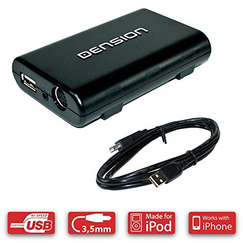 Dension GW33OC1 Gateway 300 Adapter für Opel CD30 (ID3-Tag, iPod + USB + AUX-In)