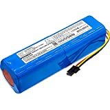Replacement for Xiaomi BRR-2P4S-5200S Battery - Fully Compatible with Mi Robo, Mijia Roborock S50, Mijia Roborock S51, Millet Sweeper - (5200mAh Li-ion)