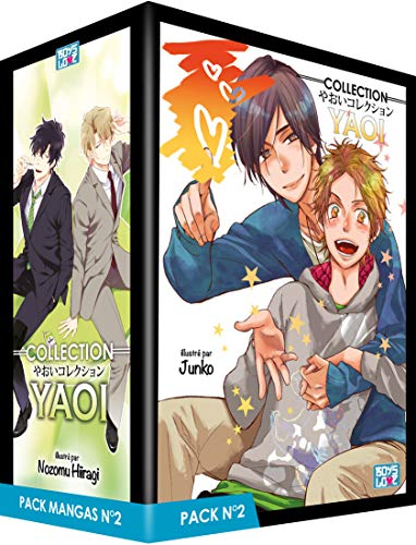 Boy's Love Collection - Pack n°2 - Manga Yaoi (5 tomes)
