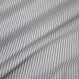 Stoff Meterware Bauernstreifen hellblau weiß Streifen 4 mm
