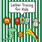 Letter Tracing for Kids: Practice Tracing Letters and Alphabet, Ages 3-5, Preschool, Green (ABC Learning for Toddlers, Pre...