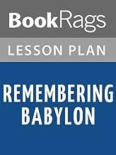 Lesson Plans Remembering Babylon