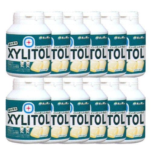歯科専売品 キシリトール ガム ボトル タイプ 90粒×12本 アップルミント