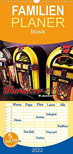 Wurlitzer und Co. (Wandkalender 2022, 21 cm x 45 cm, hoch)
