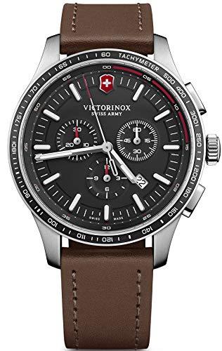 Victorinox Hombre Alliance Sport - Reloj de Acero Inoxidable con cronógrafo de fabricación Suiza 241826