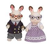 Sylvanian Families- Chocolate Rabbit Grandparents Mini muñecas y Accesorios, Multicolor (Epoch para Imaginar 5190)