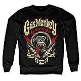 Officially Licensed Merchandise Gas Monkey Garage - Spark Plugs Sweatshirt (Black), Medium
