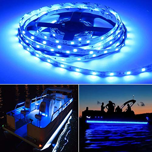 Seapon Pontoon Boat Light, Marine Led Light Strip...