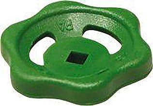 Sanitop-Wingenroth 14205 handwiel voor doorgangs- of schuine kleppen, groen