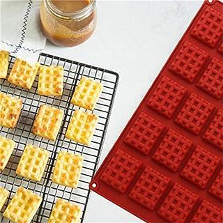 كيسو - قوالب الفطائر - بني 20 ثقب سيليكون DIY شوكولاتة البسكويت قالب الثلج شعرية صنع الكعك الملحقات أدوات الخبز