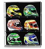 Vitrina de acrílico para seis cascos modelo de escala 1:2 F1/GP de Widdowsons Ltd