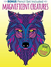 Kaleidoscope Coloring: Magnificent Creatures with 12 Pencils
