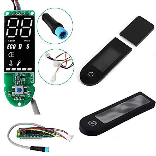EWheel | Pantalla Display para Patinete eléctrico Xiaomi Pro, Pro2, Essential y 1S + Tapa | Incluye Protector Resistente al Agua Gratis.