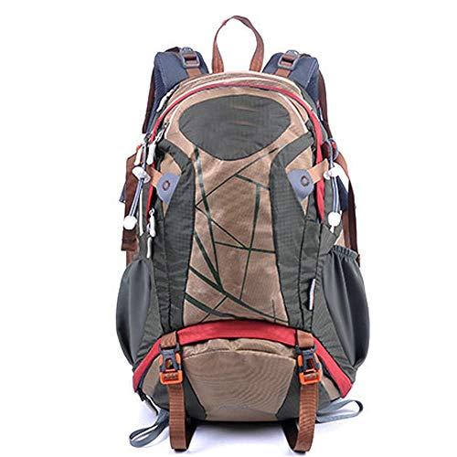 DKEE Outdoor Backpack Mochila De Senderismo Al Aire Libre Mochila De Ciclismo De 30 litros Mochila De Viaje Bolsa De Alpinismo Bolso Deportivo for Hombres Y Mujeres (Color : Brown)