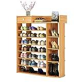 Fuerte Zapatero Simple. Armario de Zapato casero económico de múltiples Capas. Almacenamiento en casa (Size : 100cm Long)