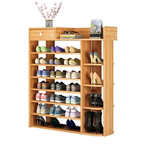 Fuerte Zapatero Simple. Armario de Zapato casero económico de múltiples Capas. Almacenamiento en casa (Size : 80cm Long)