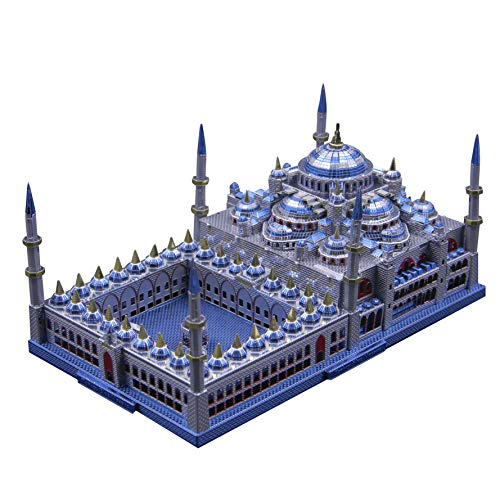 3D Metal Puzzel Famous Architecture Model Building Kit Laser Cut Jigsaw Brain Teaser - Microworld...
