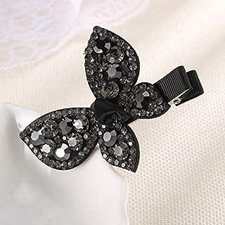 Packs Of Scrunchies - Korean Women Simple Exquisite Butterfly Barrettes Clips Girl Fashion Sweet Shiny Australia Rhinestone Headdress Hair Accessories
