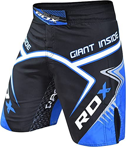 RDX MMA Boxen Shorts Kampfsport Trainingshorts UFC Kurze Sporthose Muay Thai Fightshorts,L