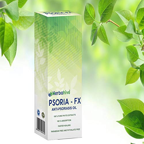HERBAHIVE Psoria-FX Anti-Psoriasis Oil (100 ml)
