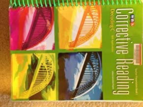 SRA Corrective Reading, Decoding C, Skill Applications, Teacher Presentation Book 1 ISBN 0076112365 by Gary Johnson, Linda Carnine, Linda Meyer Siegfried Engelmann (2008-05-03)