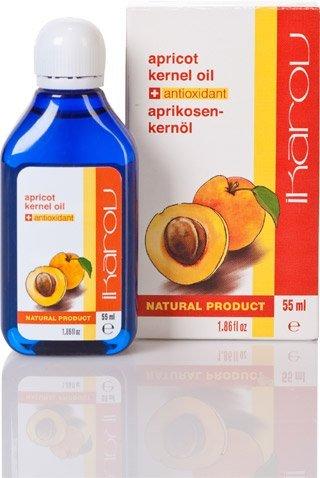 Ikarov Aceite de semilla de albaricoque para el rostro y el cuerpo 55 ml