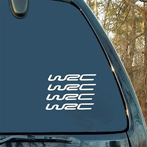 Sticker de carro World Cross Country Rally Wrc Modified Car Stickers Vinilo para portátil