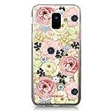CASEiLIKE Coque Samsung A6 2018, Bouquets de Fleurs bohémiennes 2276, TPU Silicone Soft Housse Etui Coque pour Samsung Galaxy A6 2018