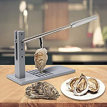 Upgrade Stainless Steel Oyster Shucker Tool Set Oyster Clam Opener Machine Hotel Buffets and Homes and Gift Stainless Steel Oyster Shucker